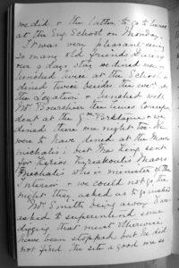 Mabel's handwriting