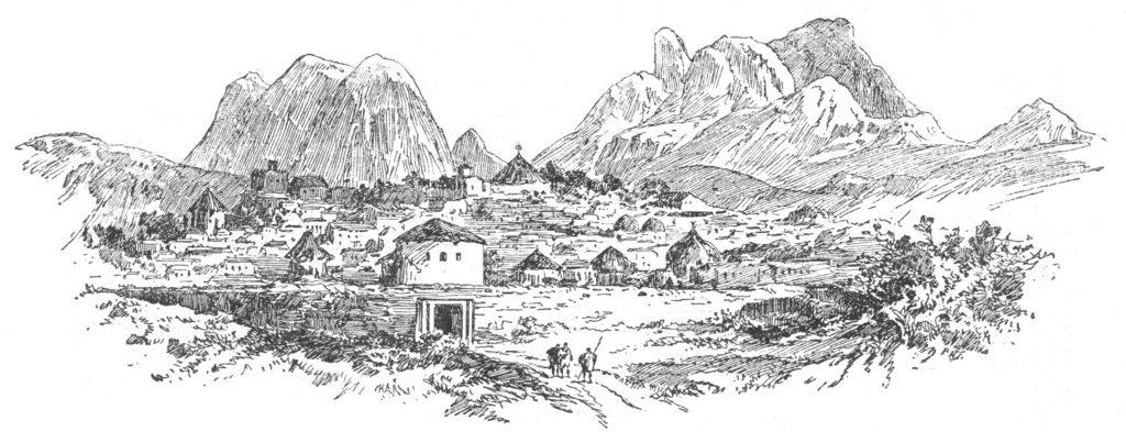 Adua Church Theodore's sketch