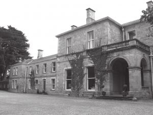 Newtonbarry House, Bunclody, Co. Wexford, where Mabel Hall-Dare grew up (photo: The Bent Archive)