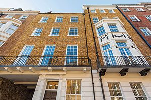 43 Great Cumberland Place - missing its blue plaque