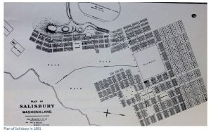 A plan of Fort Salisbury as Mabel and Theodore would very likely have encountered it in September 1891
