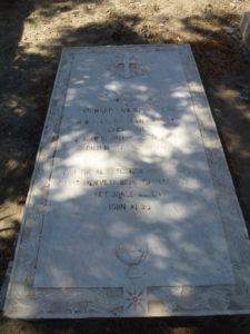 The grave of Richard Wilkinson