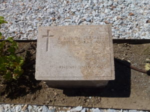Grave of an unknown sailor