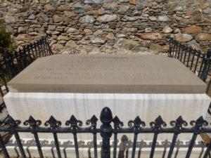 The grave of St. Vincent Lloyd