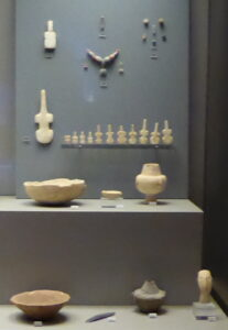 Finds from Krassades in the National Archaeological Museum, Athens
