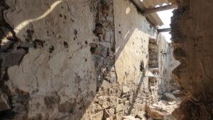 Rendering on the internal walls